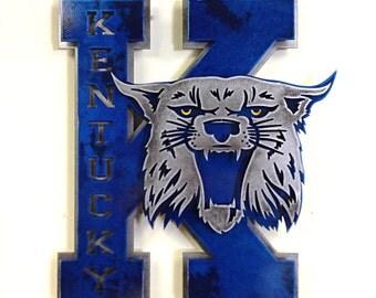 University of Kentucky Vintage 1970's Power K