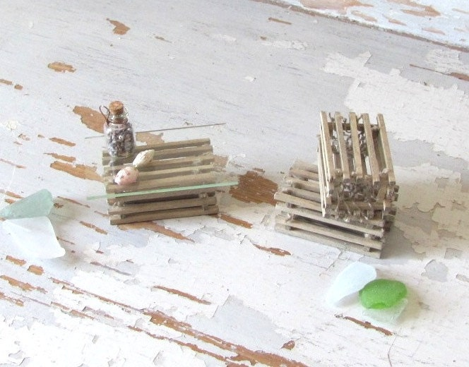 Dollhouse Miniature 1 12 Scale Lobster Pot Trap For Nautical