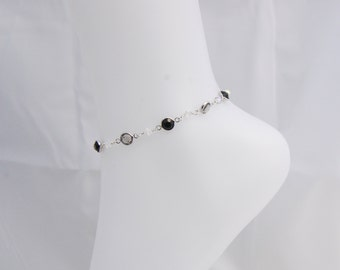 Swarovski Crystal Cuplink Anklet -Clearance sale Originally 15.00