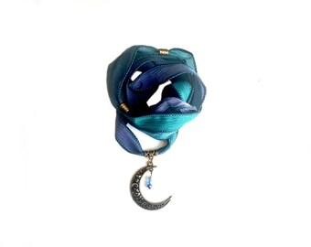 Scheherazade silk ribbon bracelet
