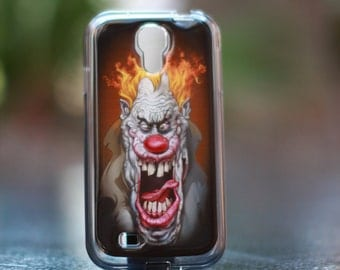 Burning Clown  Samsung Galaxy S4  TPU Case/Cover