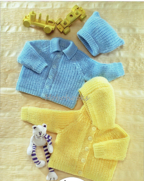 Baby knitting patterns baby childs toddler cardigans by ...