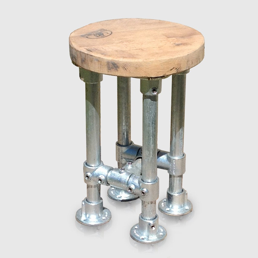 Industrial Style Kitchen Island Bar Stool Modern Heavy Duty