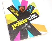 POKERVITT 70s italy - vintage school diary unused mint comics