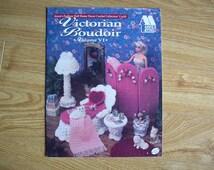 Crochet Barbie Doll house Furniture - Victorian Boudoir - Barbie Furniture - Doll  house Furniture Pattern Books - Barbie Pattern Books -