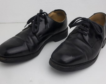 Size 5 Baxter & Co Black Leather Dress Shoes