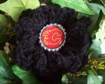 Calgary Flames,NHL,Hockey,Sports,Crafts,Bags,Purses,Gifts,Packages,Decoraiions,Hair,Clothing