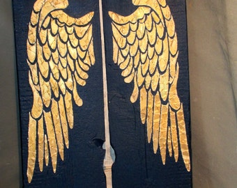 Angel Wing Wall Decor, Wings, Large Angel Wings, Angel Wings Wall Decor, Angel Wing Wall Art, Wood Angel Wings,  Distressed Wood Sign