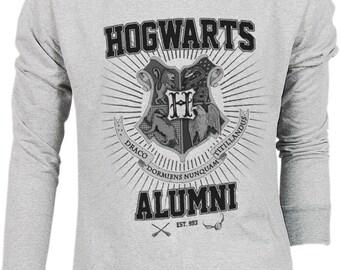 Hogwarts Alumni Harry Potter Hogwarts Quidditch Team Festival Retro VTG Jumper Sweater Sweatshirt Long Sleeve Pullover Hoodie Hood S M L