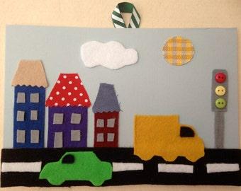 Street Scene craft kit.