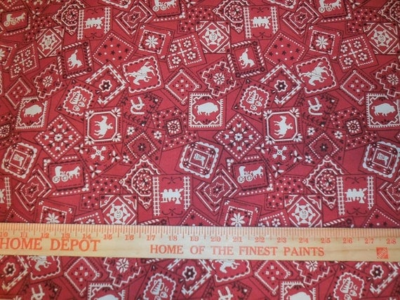 western home decor fabric western bandana print home decor fabric from 11821