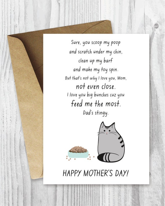 Universal image regarding free printable funny mothers day cards