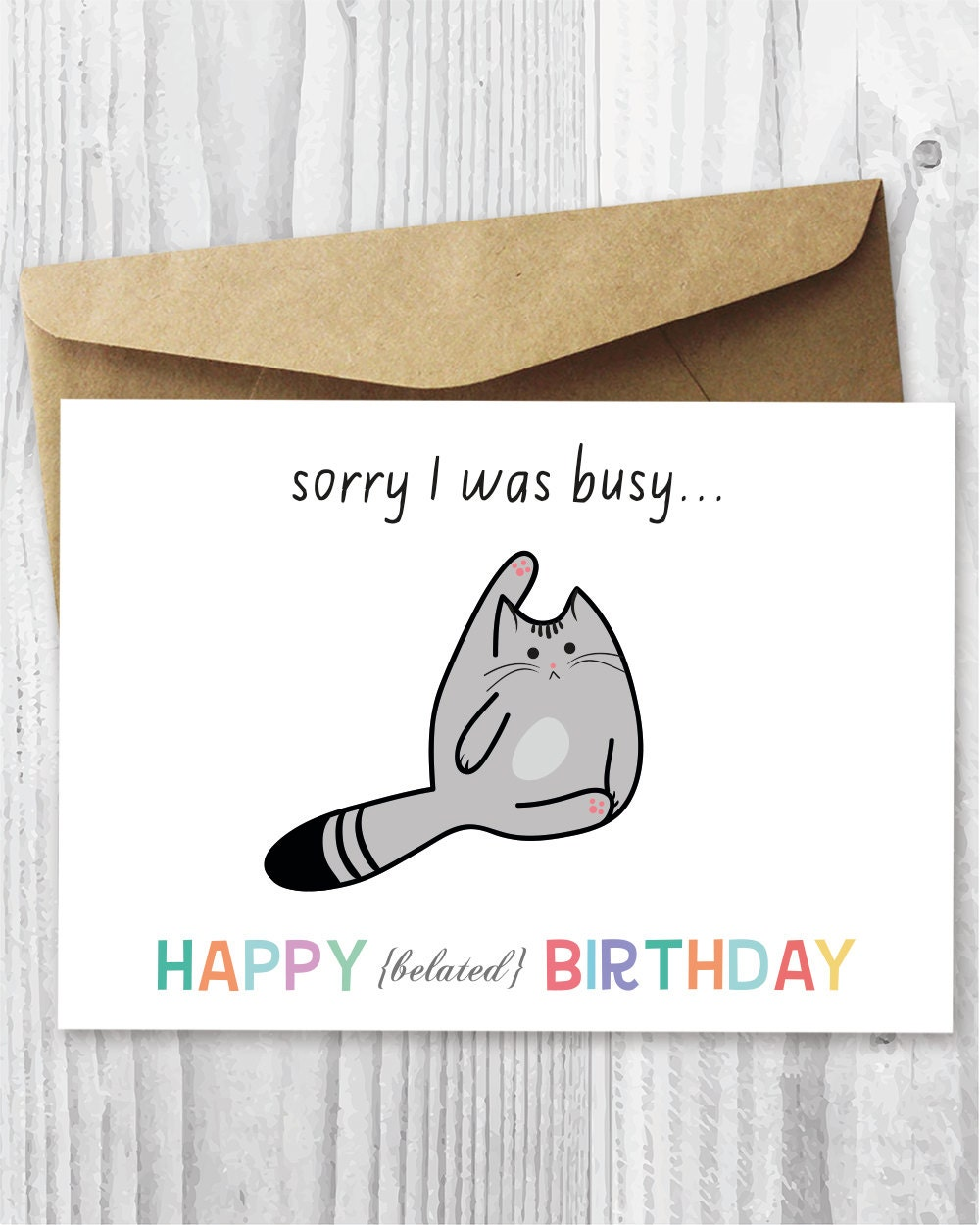 This is a graphic of Crush Printable Belated Birthday Cards