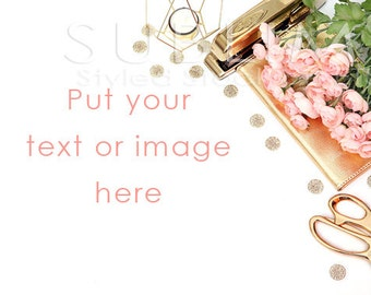 Styled Stock Photography / Office Styled /Branding Stock Photo / Digital Background / feminine mockup / JPEG Digital Image / StockStyle-500