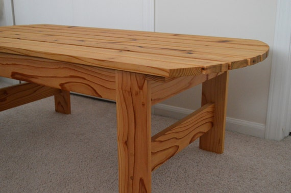 Cedar Adirondack Coffee Table Patio Table Adirondack Table