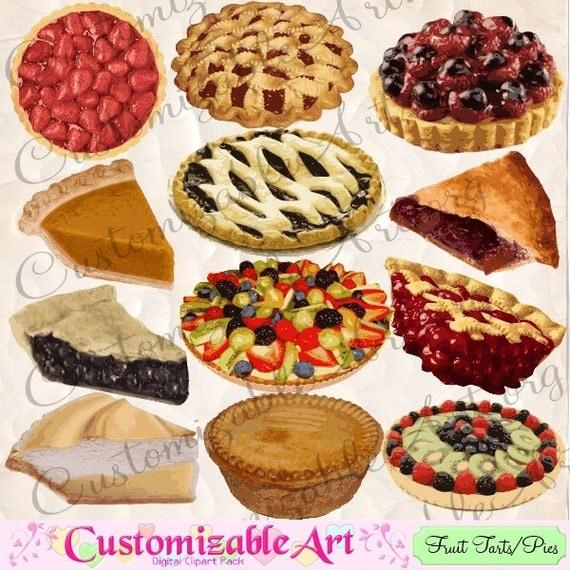 Whole Apple Pie Clipart Pie Clipart Digital Apple Pie