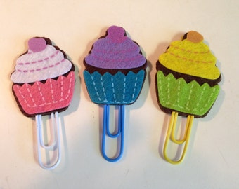 Cupcake clips for planners