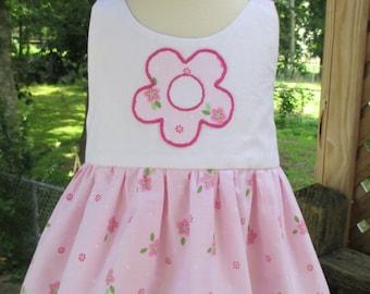 Whimsy Flower Daisy Baby Dress