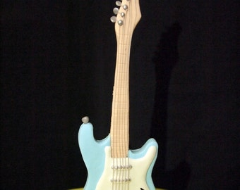 Fondant Electric Guitar Cake Topper (MADE TO ORDER)