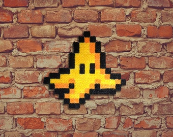 Banana peel! -Carpet Pixel Art - Hand painted