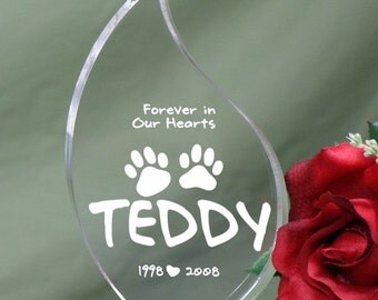 Pet Memorial Tear Keepsake