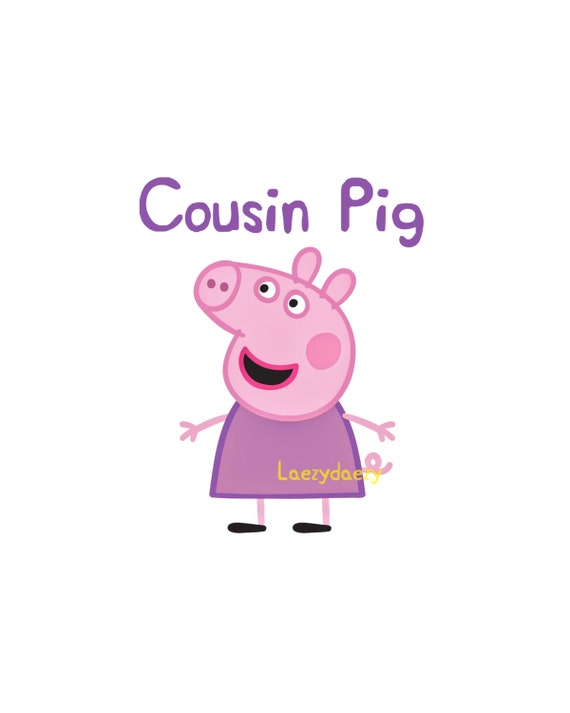 Brother Pig Peppa Pig Iron On Transfer moreover I Was Dyeing To Try This together with Cousin Of The Birthday Girl Peppa Pig further List of Saw characters in addition Auntie Pig Peppa Pig Iron On Transfer. on peppa pig instant download cousin