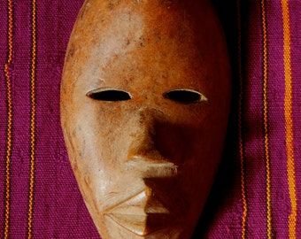 Dan Tribal Passport Msk Worn For Identification Cote d'Ivoire African Ethnic Art *2