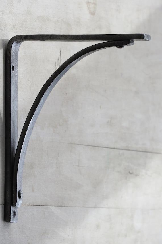 e Hand Forged 6 Shelf Brackets Rustic by