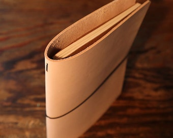 Single Extra Large Moleskine Cahier Leather Notebook Journal Cover