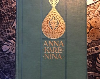 Anna Karenina, by Tolstoi (Tolstoy), 1886, First American Edition, Illustrated, Possible First Impression, Rare