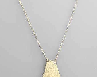 Gold Georgia Necklace