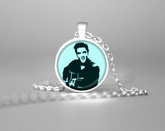 ELVIS PRESLEY NECKLACE Elvis Jewelry Elvis Pendant Elvis Necklace Elvis Memorabilia Elvis Art Elvis Photos Elvis The King of Rock and Roll