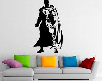 Charmant Superman Wall Decal Vinyl Stickers Comics Superhero Interior Home Design  Wall Art Murals Bedroom Decor (
