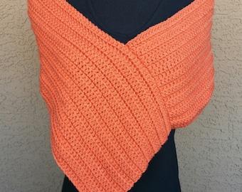 Spider-back Crochet Poncho