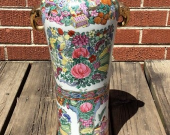Vintage Chinese Vase from the Macau Region of China