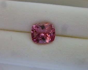 2.44 Carat Cushion Cut Pink Spinel