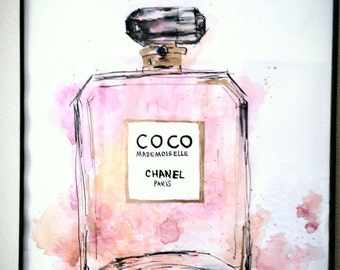 Coco Chanel/Painting/Gift/Fashion/Home Decor