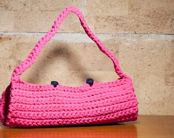 Lycra strap bag with round section