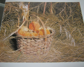 Pumpkins from my Garden by Bob Timberlake from the book The World of Bob Timberlake