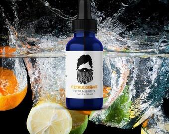 Citrus Grove Beard Oil - Orange Lemon Grapefruit Tangerine