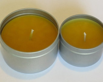 Beeswax Aromatherapy Lavender Candle