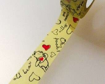 Winnie the Pooh - Disney Washi Tape from Japan