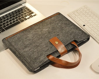 Hangers Felt Macbook 13 Sleeve , Felt Macbook Air 13 Cover , Felt Macbook Air 13 Case , Macbook Pro 13 Sleeve , Macbook air 13.3 #215