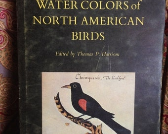 The First Water Colors of North American Birds