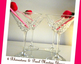 Martini Glasses...set of four