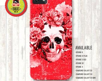 skull case, skull iphone case, skull cover, samsung case, samsung galaxy s6 case, samsung galaxy s5 case