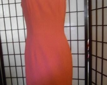 Women's Sleeveless Dress -Square Neck