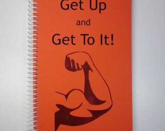 Exercise Journal - Spiral Bound Journal