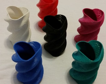 Miniature Helical Heart Vase
