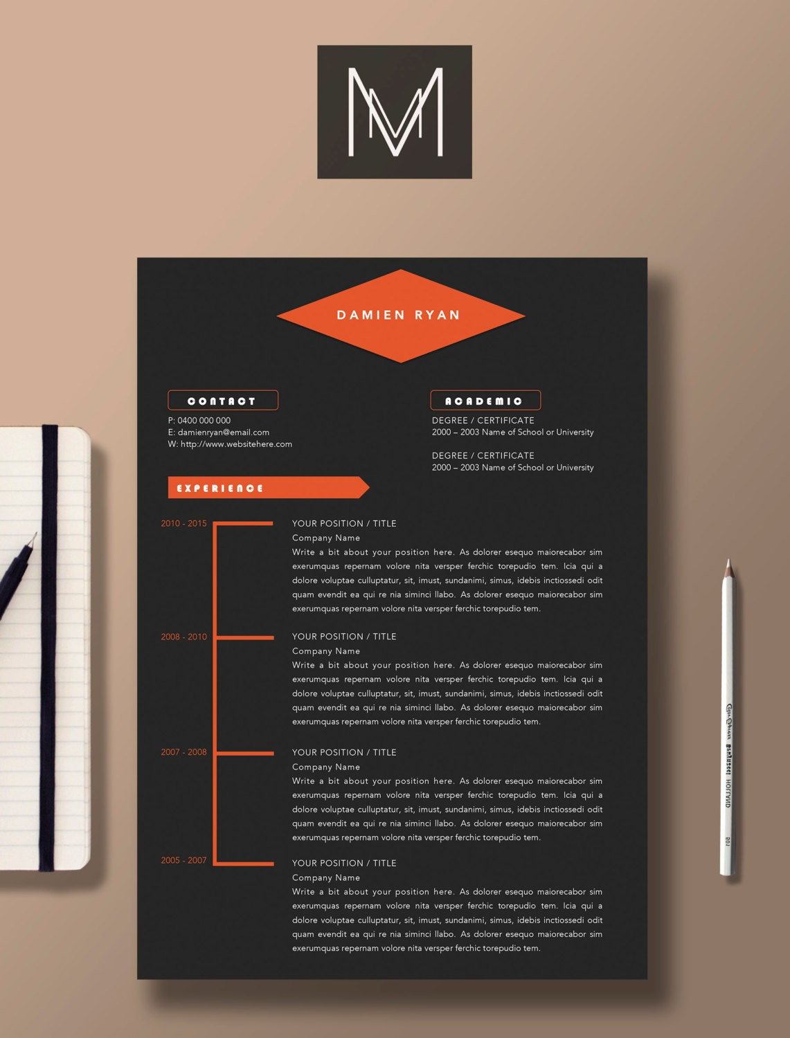 Cover Letter In Resume: Narrative Style Resume, Graphic Design Resume ...